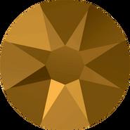 Swarovski Flatback 2088 - ss16, Crystal Dorado (001 DOR) Foiled, No Hotfix, 1440pcs