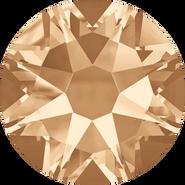 Swarovski Flatback 2088 - ss16, Crystal Golden Shadow (001 GSHA) Foiled, No Hotfix, 1440pcs
