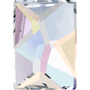 Swarovski Flatback 2520 - 8x6mm, Crystal Aurore Boreale (001 AB) Foiled, No Hotfix, 288pcs