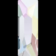 Swarovski Hotfix 2555 - 12x4mm, Crystal Aurore Boreale (001 AB) Unfoiled, Hotfix, 144pcs