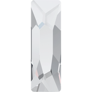 Swarovski Flatback 2555 - 12x4mm, Crystal (001) Foiled, No Hotfix, 144pcs