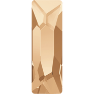 Swarovski Flatback 2555 - 15x5mm, Crystal Golden Shadow (001 GSHA) Foiled, No Hotfix, 72pcs