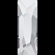 Swarovski Hotfix 2555 - 8x2.6mm, Crystal (001) Unfoiled, Hotfix, 240pcs