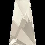 Swarovski Flatback 2770 - 6x3.5mm, Crystal Silver Shade (001 SSHA) Foiled, No Hotfix, 1440pcs