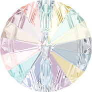 Swarovski 3015 - 10mm, Crystal Aurore Boreale (001 AB) Foiled, 72pcs