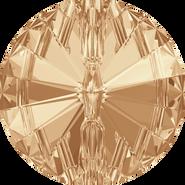 Swarovski 3015 - 10mm, Crystal Golden Shadow (001 GSHA) Foiled, 72pcs