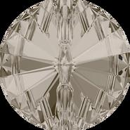 Swarovski 3015 - 10mm, Crystal Satin (001 SAT) Foiled, 72pcs