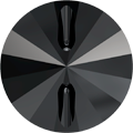 Swarovski 3015 - 10mm, Jet (280) Unfoiled, 72pcs