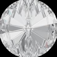Swarovski 3015 - 27mm, Crystal (001) Foiled, 8pcs