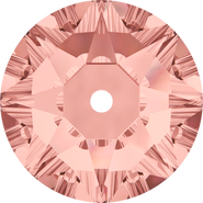 Swarovski Sew-on 3188 - 3mm, Blush Rose (257) Foiled, 1440pcs