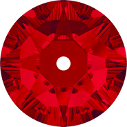 Swarovski Sew-on 3188 - 3mm, Light Siam (227) Foiled, 1440pcs