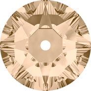 Swarovski Sew-on 3188 - 3mm, Light Silk (261) Foiled, 1440pcs