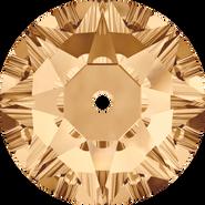 Swarovski Sew-on 3188 - 4mm, Crystal Golden Shadow (001 GSHA) Foiled, 1440pcs