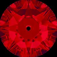 Swarovski Sew-on 3188 - 4mm, Light Siam (227) Foiled, 1440pcs