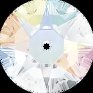 Swarovski Sew-on 3188 - 6mm, Crystal Aurore Boreale (001 AB) Foiled, 360pcs