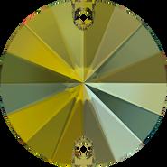 Swarovski Sew-on 3200 - 12mm, Crystal Iridescent Green (001 IRIG) Foiled, 72pcs