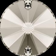 Swarovski Sew-on 3200 - 12mm, Crystal Satin (001 SAT) Foiled, 72pcs