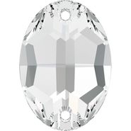 Swarovski Sew-on 3210 - 10x7mm, Crystal (001) Foiled, 72pcs
