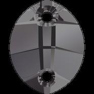 Swarovski 3224 - 14x11mm, Crystal Silver Night (001 SINI) Unfoiled, 108pcs