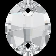 Swarovski 3224 - 23x18mm, Crystal (001) Unfoiled, 30pcs