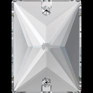 Swarovski Sew-on 3250 - 25x18mm, Crystal (001) Foiled, 24pcs
