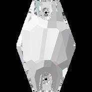 Swarovski Sew-on 3261 - 28mm, Crystal (001) Foiled, 30pcs