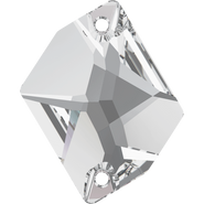 Swarovski Sew-on 3265 - 26x21mm, Crystal (001) Foiled, 20pcs
