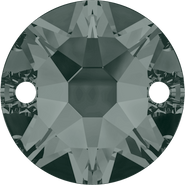 Swarovski Sew-on 3288 - 12mm, Black Diamond (215) Foiled, 72pcs