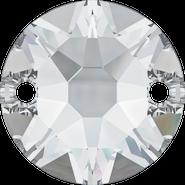 Swarovski Sew-on 3288 - 12mm, Crystal (001) Foiled, 72pcs