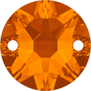 Swarovski Sew-on 3288 - 8mm, Tangerine (259) Foiled, 144pcs