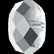 Swarovski Bead 5040 - 12mm, Crystal Light Chrome (001 LTCH), 144pcs