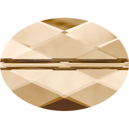 Swarovski Bead 5050 - 14x10mm, Crystal Golden Shadow (001 GSHA), 72pcs