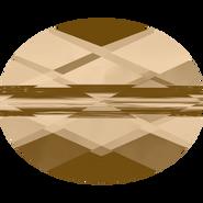 Swarovski Bead 5051 - 10x8mm, Crystal Golden Shadow (001 GSHA), 144pcs