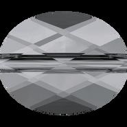 Swarovski Bead 5051 - 10x8mm, Crystal Silver Night (001 SINI), 144pcs