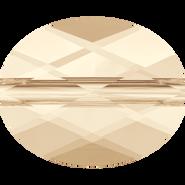 Swarovski Bead 5051 - 10x8mm, Light Silk (261), 144pcs
