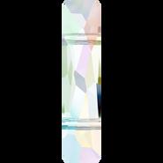 Swarovski Bead 5535 - 19x5mm, Crystal Aurore Boreale (001 AB), 72pcs