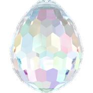 Swarovski Pendant 6002 - 15x11.5mm, Crystal Aurore Boreale (001 AB), 72pcs