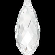 Swarovski Pendant 6010 - 11x5.5mm, Crystal (001), 144pcs