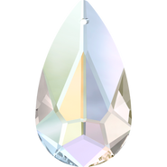 Swarovski Pendant 6100 - 24x12mm, Crystal Aurore Boreale (001 AB), 36pcs