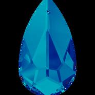 Swarovski Pendant 6100 - 24x12mm, Crystal Bermuda Blue (001 BBL), 36pcs