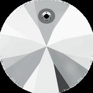 Swarovski Pendant 6428 - 8mm, Crystal Light Chrome (001 LTCH), 144pcs