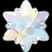 Swarovski Flatback 2753 - 10mm, Crystal Aurore Boreale (001 AB) Foiled, No Hotfix, 4pcs