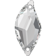 3254 - 20x9mm, Crystal (001), 2pcs, Foiled