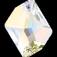 Swarovski Sew-on 3265 - 20x16mm, Crystal Aurore Boreale (001 AB) Foiled, 2pcs