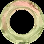 Swarovski Fancy Stone 4139 - 14mm, Crystal Luminous Green (001 LUMG) Unfoiled, 2pcs
