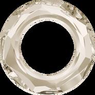 Swarovski Fancy Stone 4139 - 14mm, Crystal Silver Shade (001 SSHA) Unfoiled, 2pcs