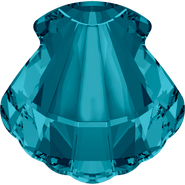 Swarovski Fancy Stone 4789 - 14mm, Indicolite (379) Foiled, 2pcs