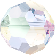 Swarovski Bead 5000 - 12mm, Crystal Aurore Boreale (001 AB), 4pcs