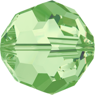 Swarovski Bead 5000 - 14mm, Peridot (214), 2pcs