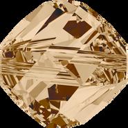 Swarovski Bead 5020 - 10mm, Crystal Golden Shadow (001 GSHA), 4pcs